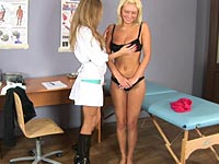 lesbian nurses threesome